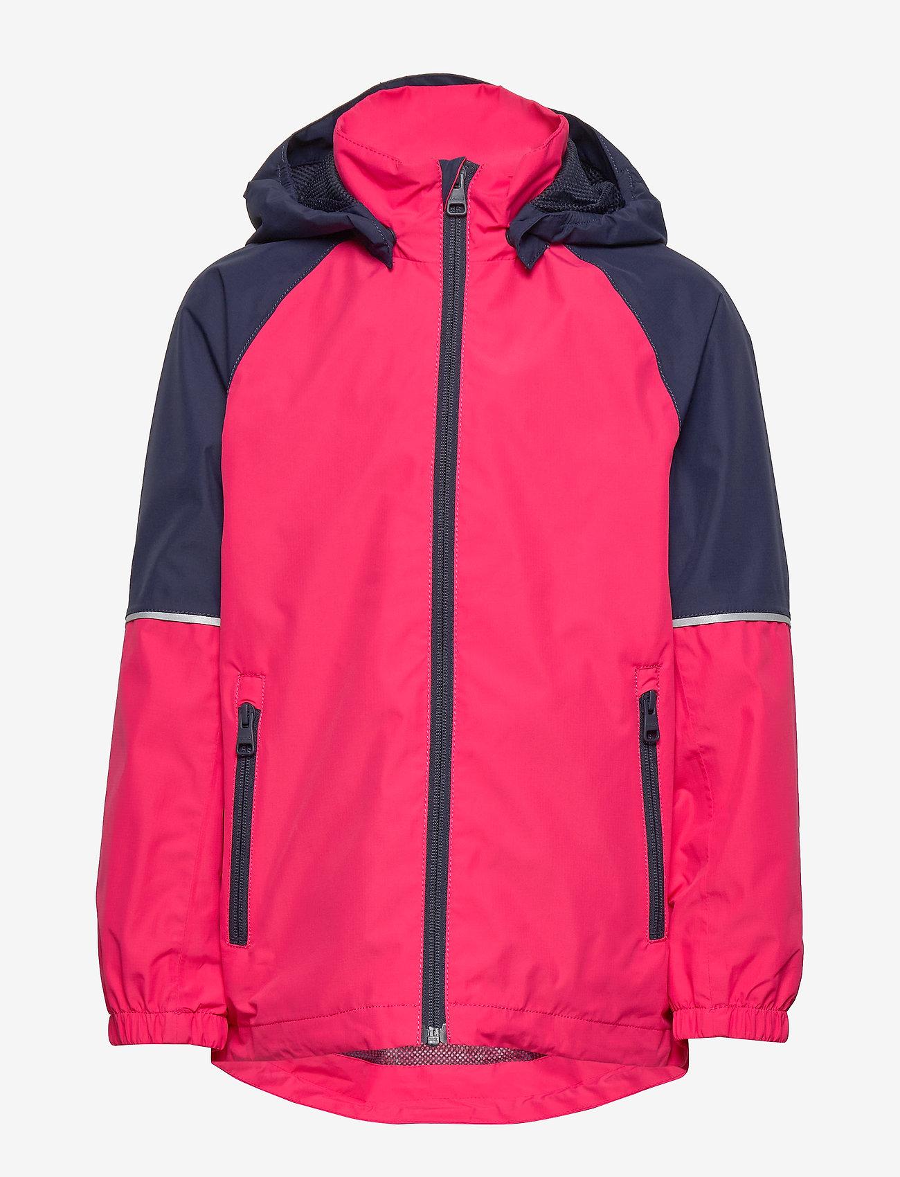 Reima - Fiskare - shell jacket - berry pink - 0