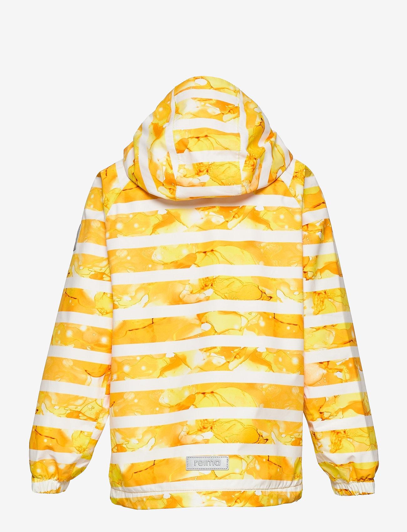 Reima - Fasarby - softshell jassen - orange yellow - 1
