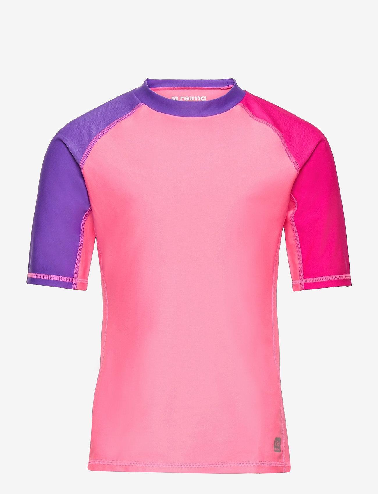 Reima - Joonia - koszulki - neon pink - 0