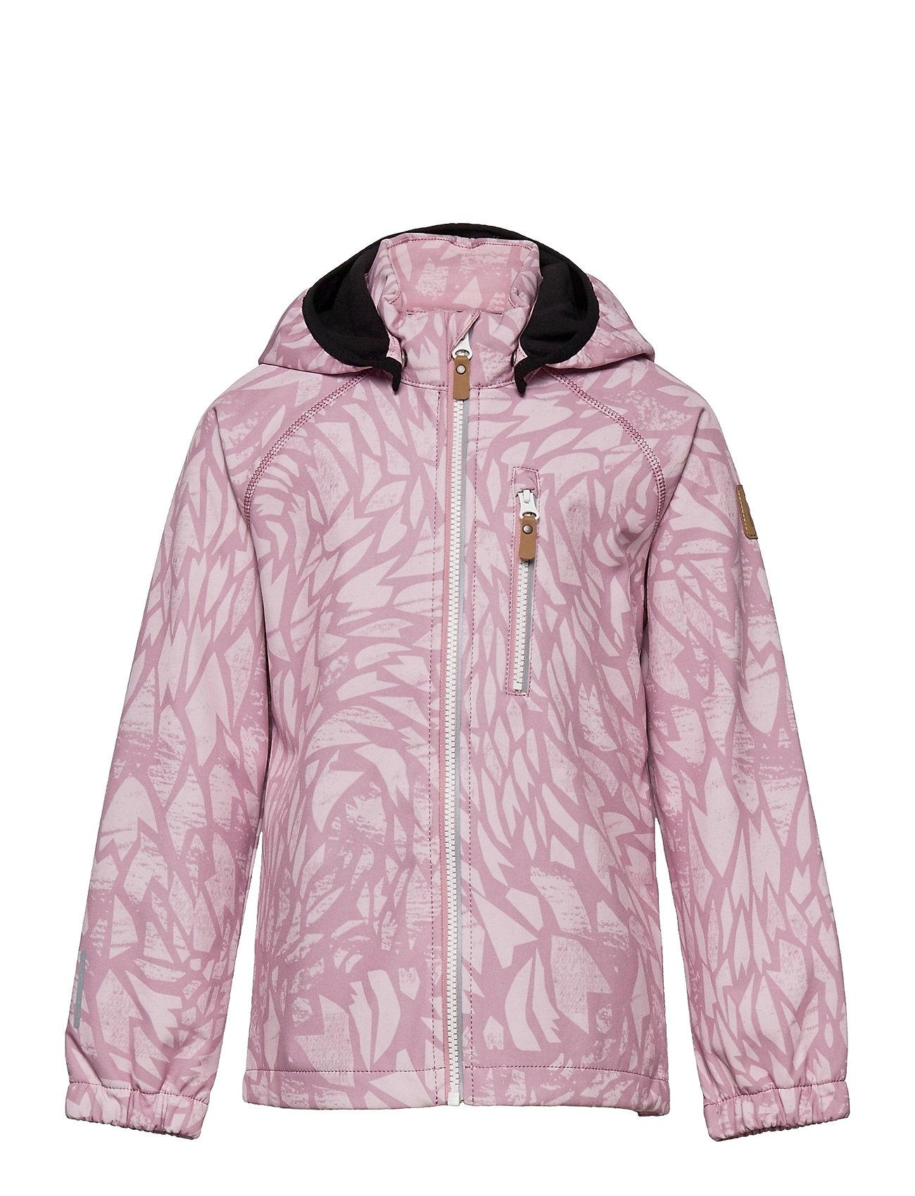 Vantti Outerwear Softshells Softshell Jackets Lyserød Reima