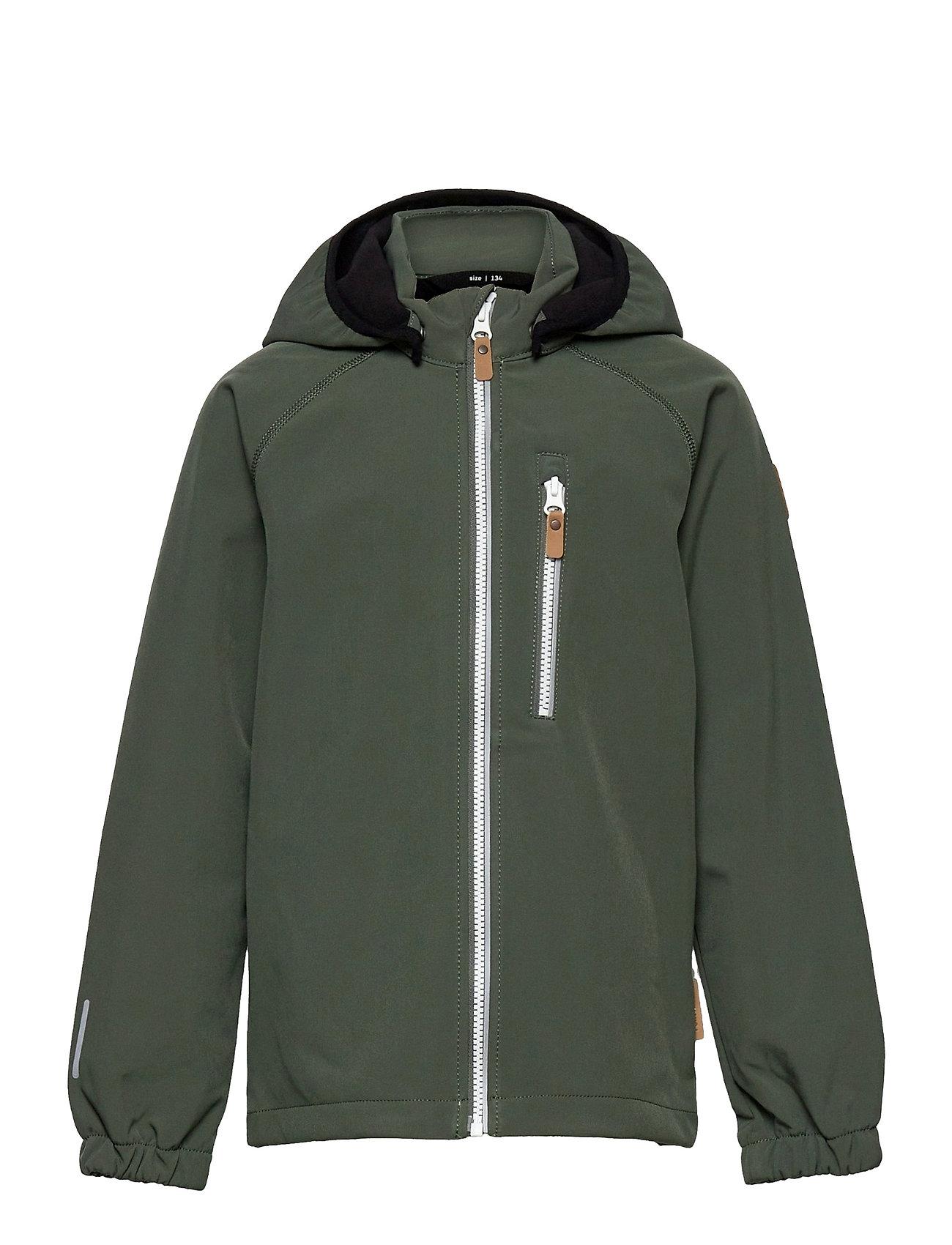 Vantti Outerwear Softshells Softshell Jackets Grøn Reima