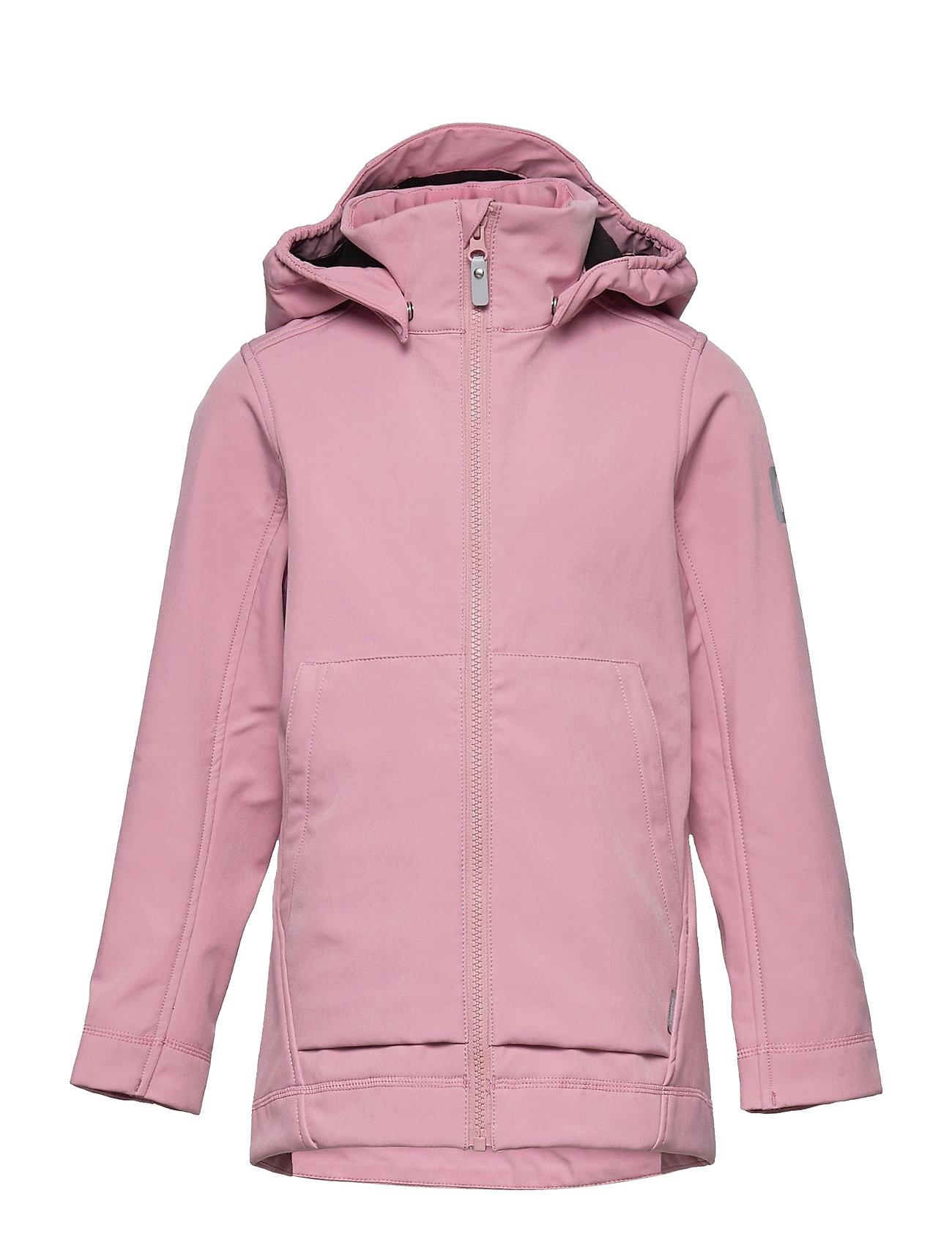 Espoo Outerwear Softshells Softshell Jackets Lyserød Reima