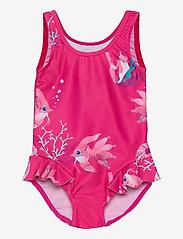 Reima - Korfu - swimsuits - fuchsia pink - 0