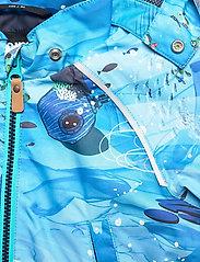 Reima - Hete - softshell jassen - aquatic - 4