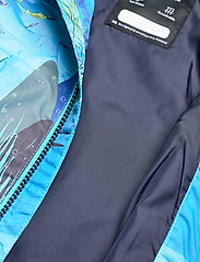 Reima - Hete - softshell jassen - aquatic - 5