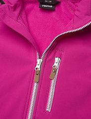 Reima - Vantti - softshell jassen - fuchsia pink - 3