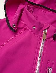 Reima - Vantti - softshell jassen - fuchsia pink - 4