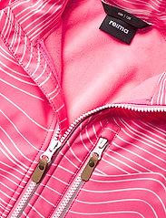 Reima - Vantti - softshell jassen - neon pink - 4