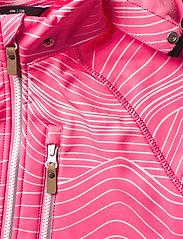 Reima - Vantti - softshell jassen - neon pink - 5