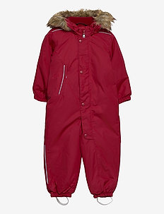 Gotland - snowsuit - lingonberry red