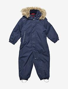 Reimatec winter overall, Gotland Dark berry,80 cm - snowsuit - navy