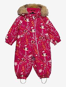 Lappi - snowsuit - raspberry pink
