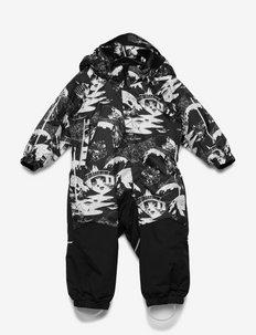 Moomin Lyster - snowsuit - black