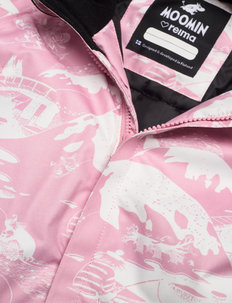 Moomin Lyster - snowsuit - rosy pink