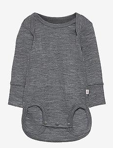 Utu - langermet - melange grey