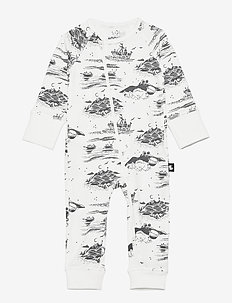Moomin Trygg - jumpsuits - off white