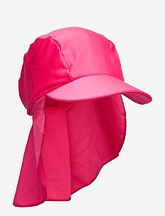 Octopus - sun hats - berry pink