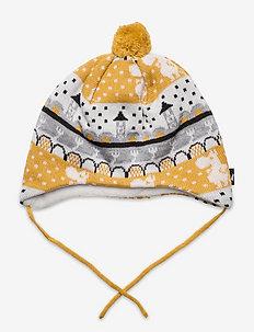 Moomin Yngst - winter hats - ginger yellow