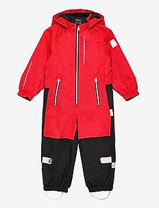 Kapelli - shell clothing - tomato red