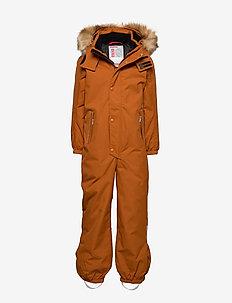 Stavanger - snowsuit - cinnamon brown