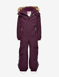 Stavanger - snowsuit - deep purple