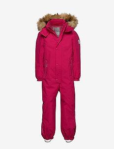 Stavanger - vinterdress - raspberry pink