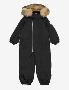 Trondheim - snowsuit - black