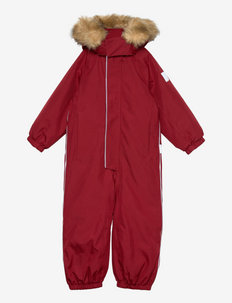 Trondheim - snowsuit - jam red