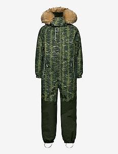 Bergen - snowsuit - dark green