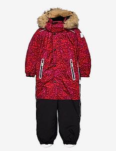 Kipina - snowsuit - jam red