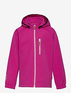 Vantti - softshell-jakker - fuchsia pink