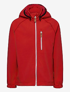 Vantti - veste softshell - tomato red