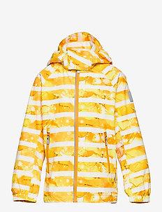 Fasarby - veste softshell - orange yellow