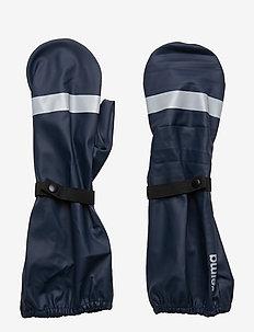 Kura - gloves - blue