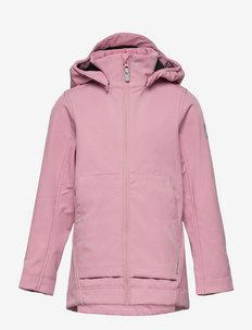 Espoo - softshell-jakker - rosy pink