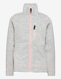 Maaret - fleecetøj - melange grey