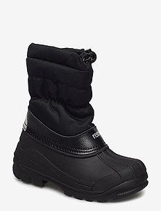 Nefar - buty zimowe - black