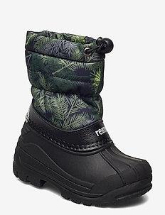 Nefar - buty zimowe - dark green