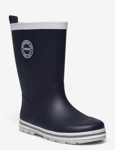 Taika 2.0 - gummistøvler uten linjer - navy