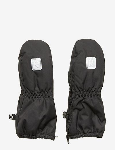 Tassu - hoeden & handschoenen - black