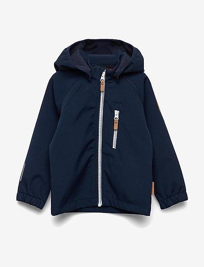 Vantti - softshell jacket - navy