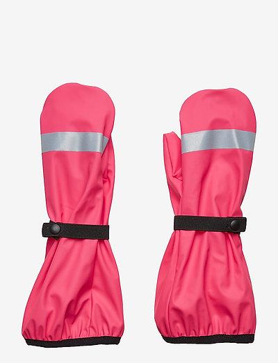 Puro - hatte og handsker - pink