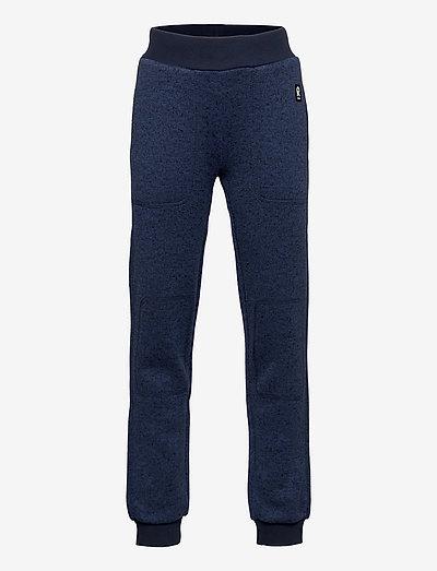 Sangis - sweatpants - jeans blue