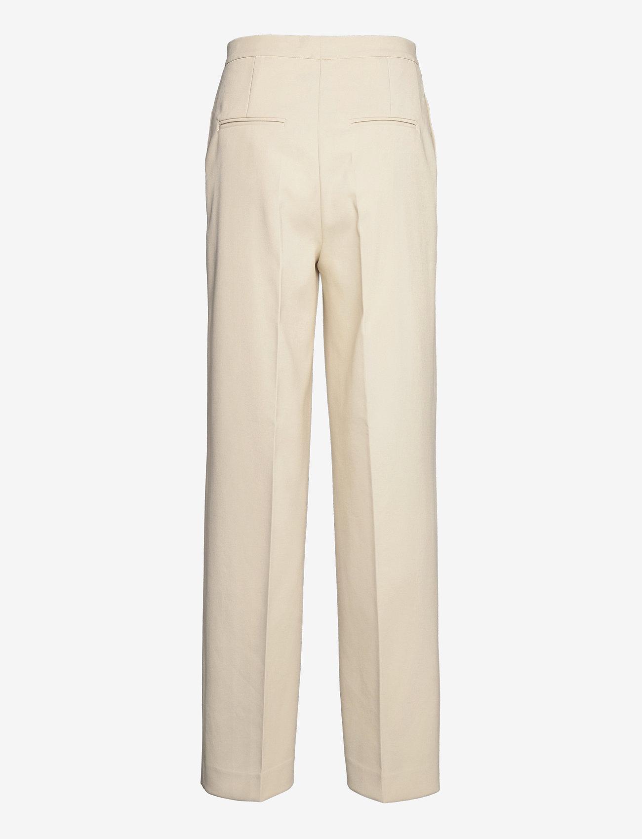 REMAIN Birger Christensen - Nadia Pants - bukser med lige ben - white asparagus - 2