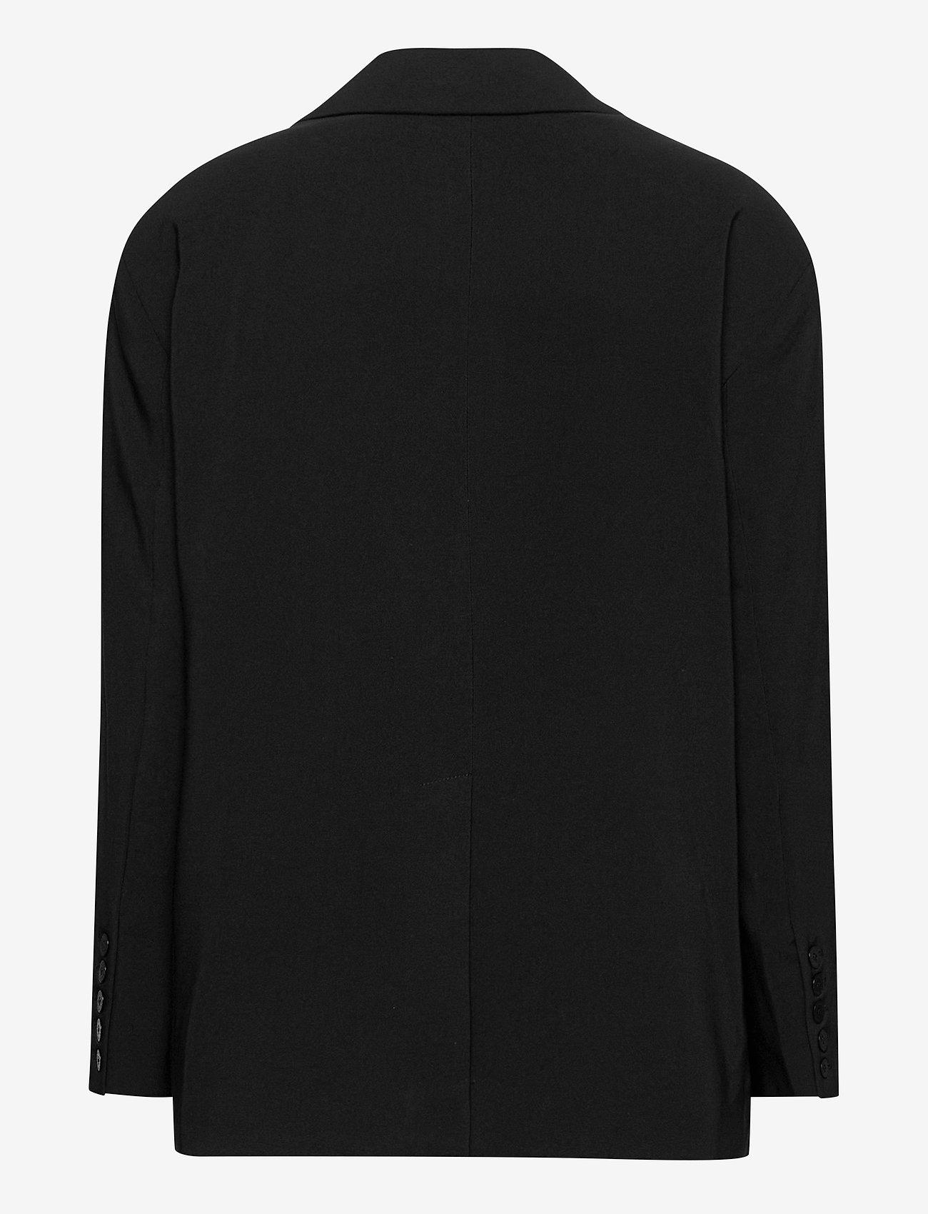 REMAIN Birger Christensen - Mandy Blazer - oversized blazere - black - 1