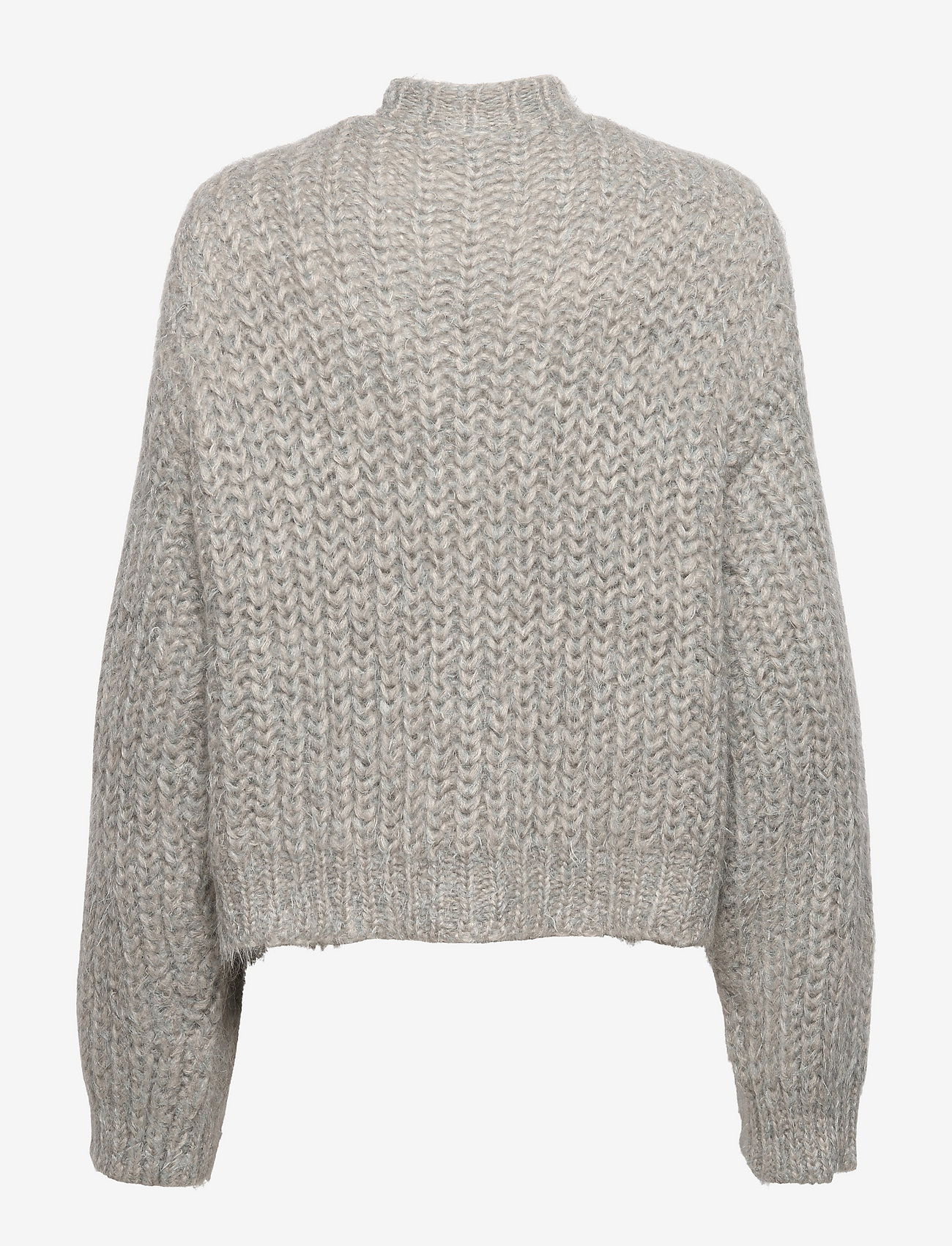 REMAIN Birger Christensen - Stinna Polo Knit - trøjer - pearl blue - 1