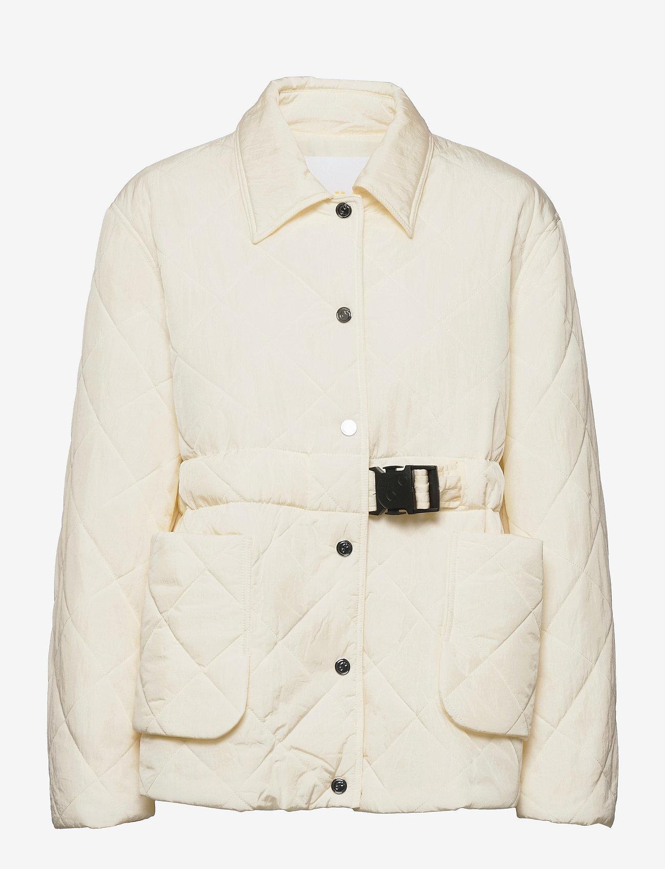 REMAIN Birger Christensen - Loraine Jacket - quiltede jakker - vanilla ice - 0