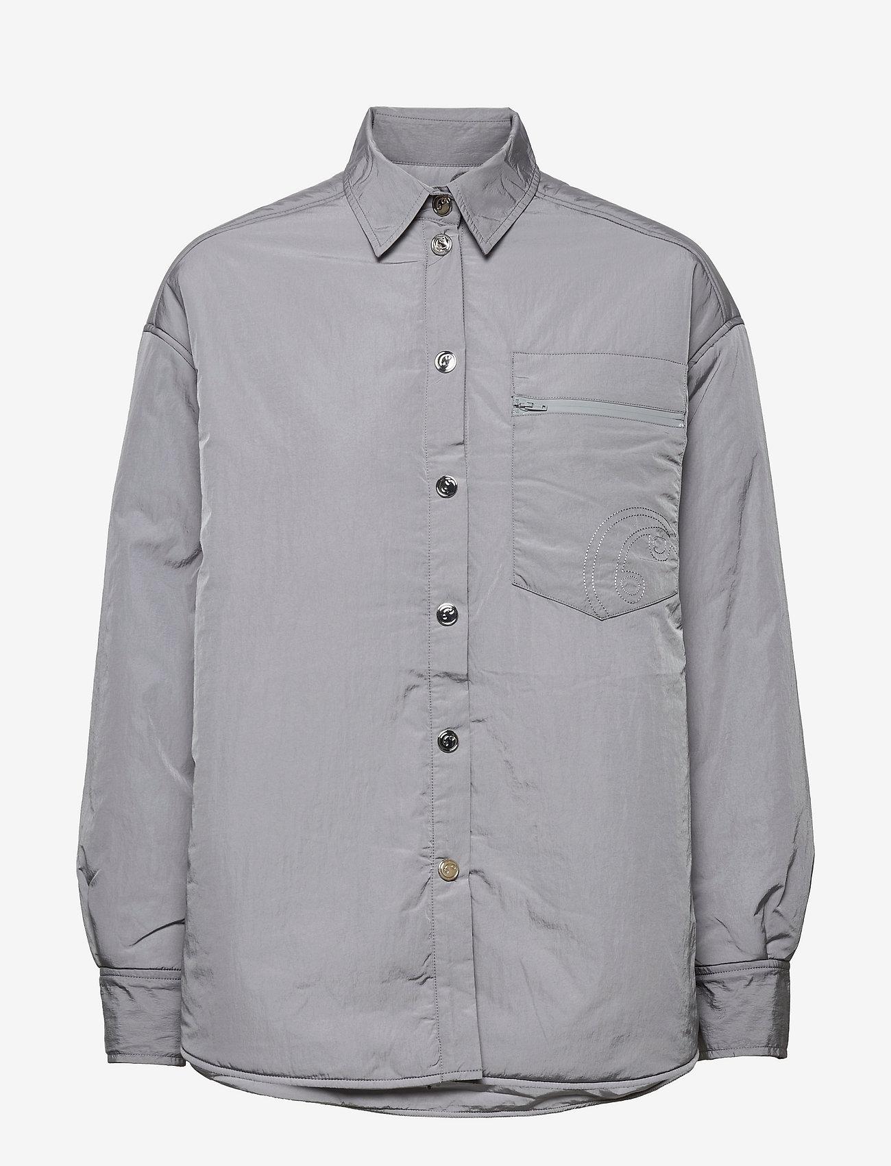 REMAIN Birger Christensen - Evy Shirt - denimskjorter - tradewinds - 0