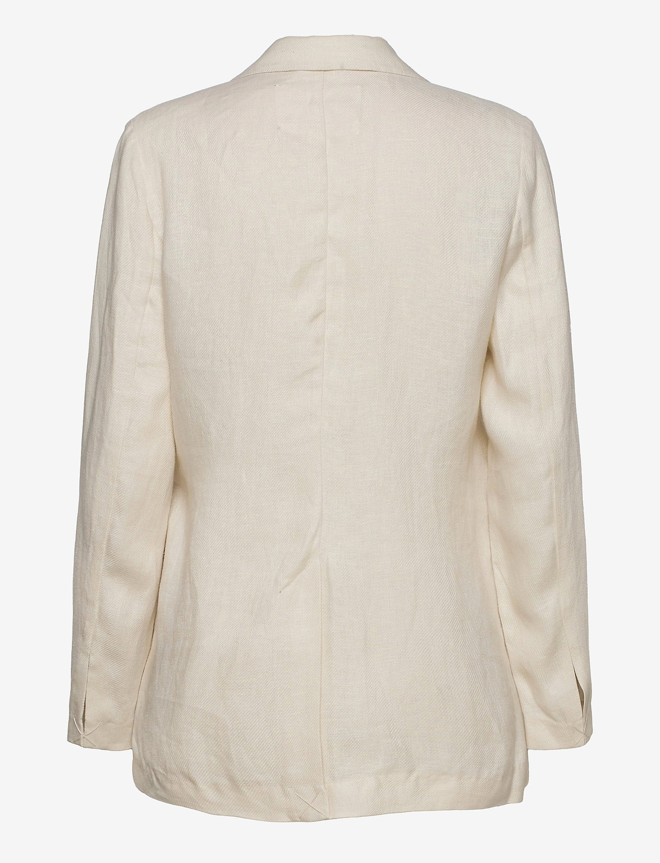 REMAIN Birger Christensen - Vivie Blazer - oversized blazere - white asparagus - 1