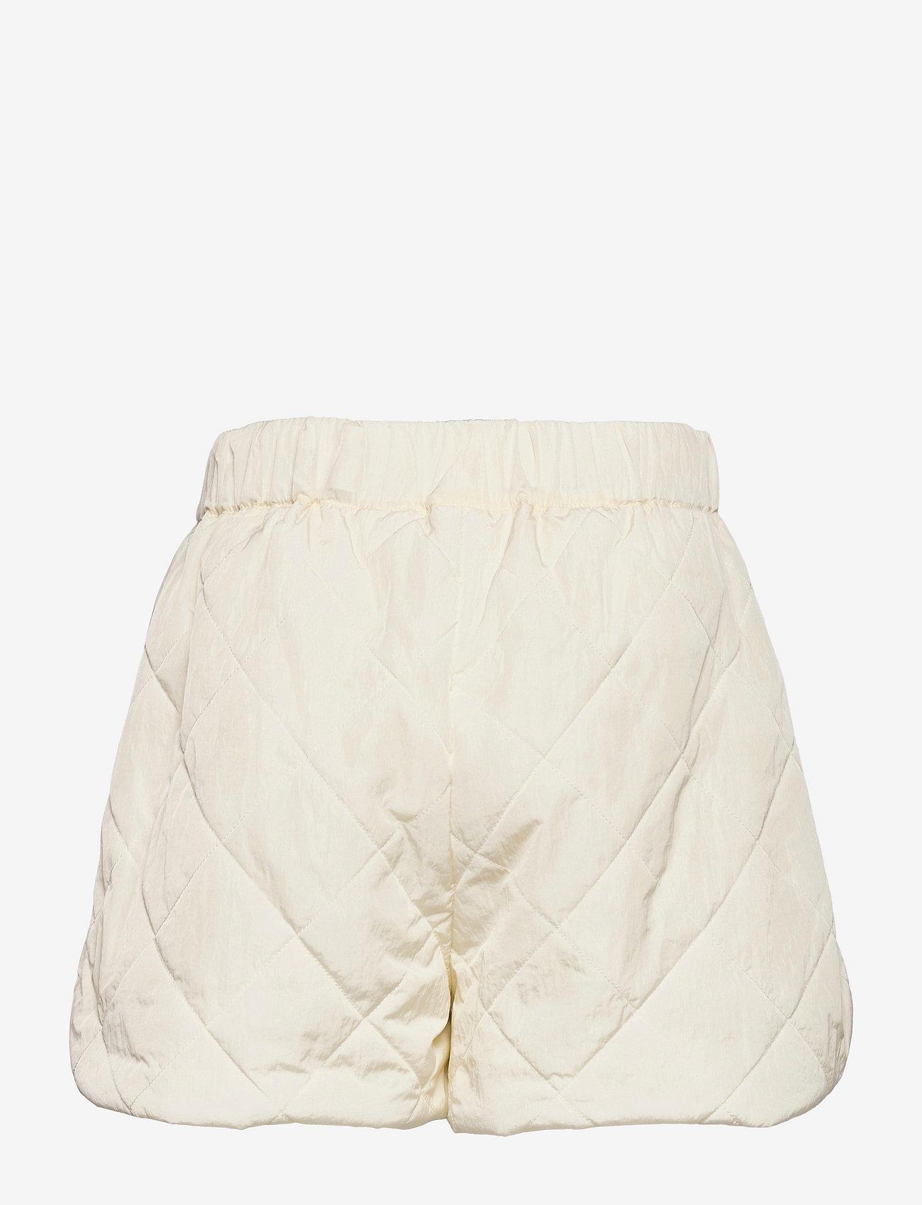 REMAIN Birger Christensen - Lola Shorts - casual shorts - vanilla ice - 1